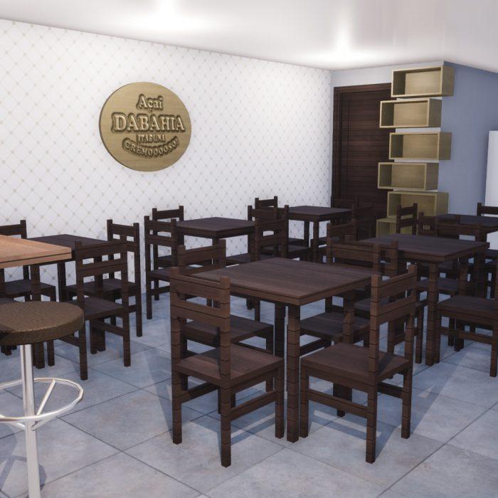 Arquitetura Comercial – Açai da Bahia