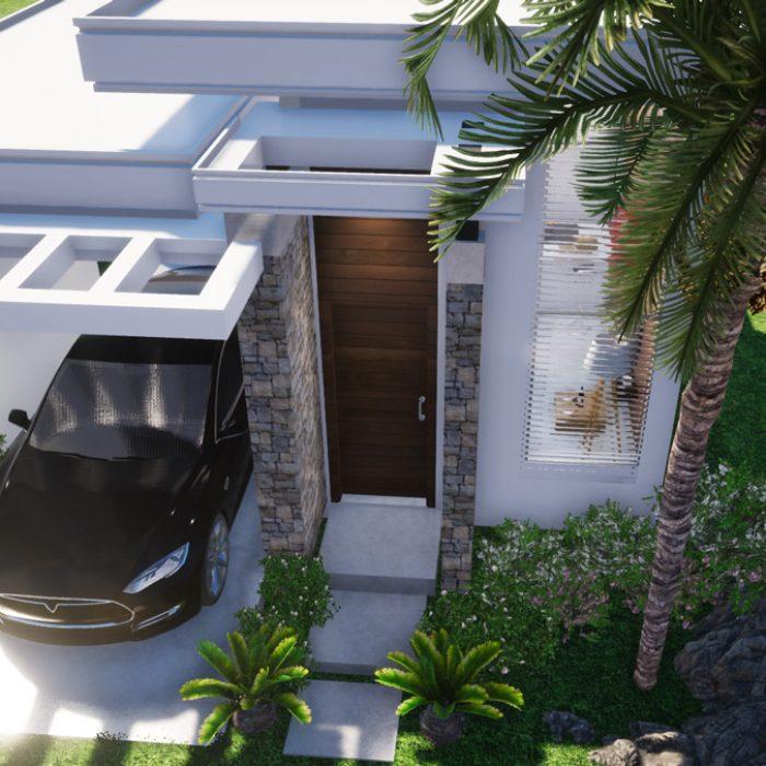 Projeto arquitetônico – Casa de médio padrão