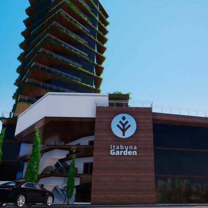 Edificio Residencial e Comercial – 18 andares